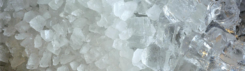 Cruched ice & ijsblokjes
